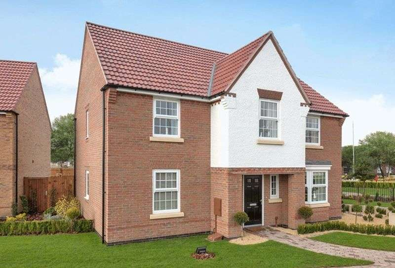 4 Bedrooms Detached House for sale in WINSTONE - Kings Court, North Hykeham