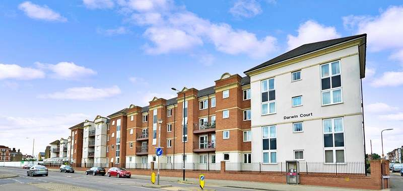 2 Bedrooms Retirement Property for sale in Darwin Court, Margate, CT9 2JX