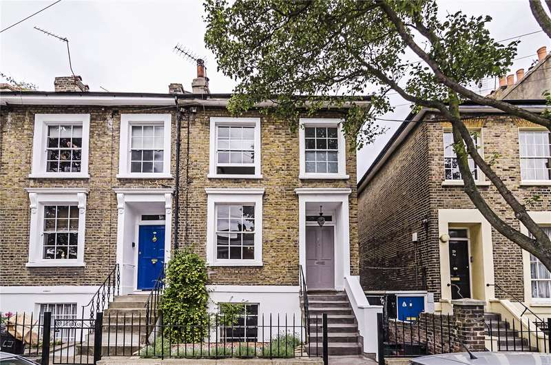 4 Bedrooms Semi Detached House for sale in Ecclesbourne Road, London, N1
