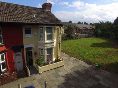 3 Bedrooms End Of Terrace House for sale in Lily Road, Liverpool, Merseyside, L21