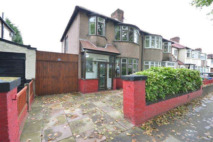 3 Bedrooms Semi Detached House for sale in Brodie Avenue, Allerton, Liverpool, L19