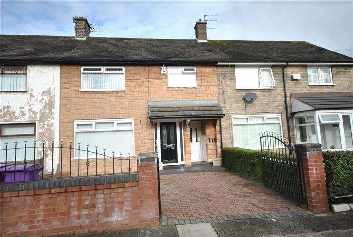 3 Bedrooms Terraced House for sale in Meriden Road, Gateacre, Liverpool, L25