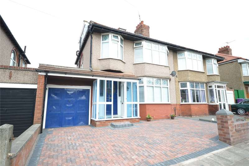 4 Bedrooms Semi Detached House for sale in Latrigg Road, Aigburth, Liverpool, L17