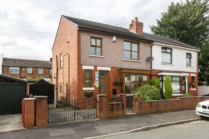 3 Bedrooms Semi Detached House for sale in Pyke Street, Whelley, WN1 3XY