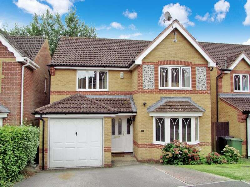 4 Bedrooms Detached House for sale in Blackthorn Drive, Thatcham
