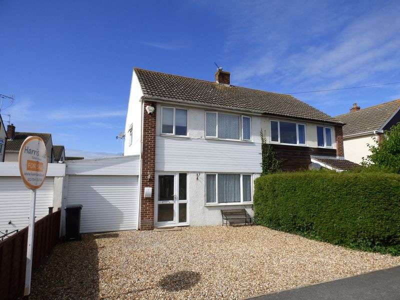 3 Bedrooms Semi Detached House for sale in Farndale Road, Milton, Weston-super-Mare