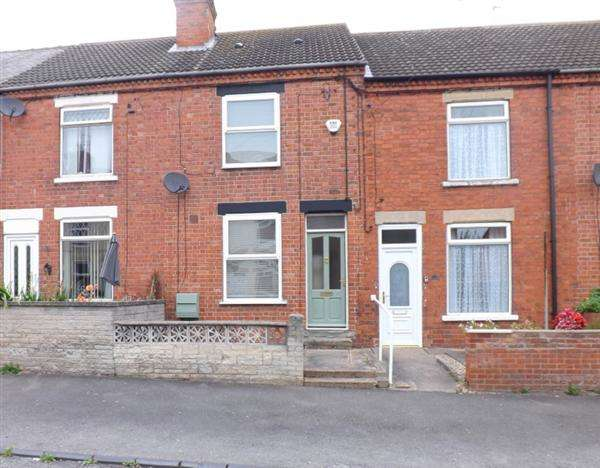 2 Bedrooms Terraced House for sale in King Street, Hodthorpe, Worksop