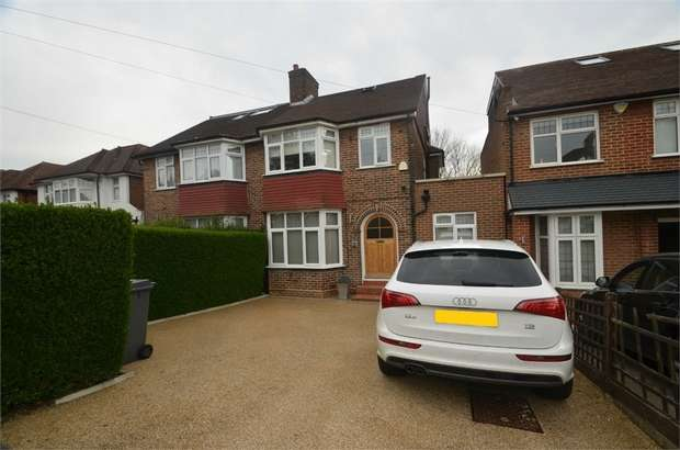 4 Bedrooms Semi Detached House for sale in Glenmere Avenue, Mill Hill
