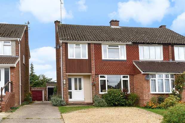 4 Bedrooms Semi Detached House for sale in Butler Road, CROWTHORNE, Berkshire