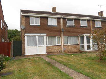 3 Bedrooms End Of Terrace House for sale in Ranworth Walk, Bedford, Bedfordshire