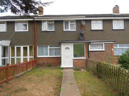 3 Bedrooms Terraced House for sale in Ranworth Walk, Bedford, Bedfordshire