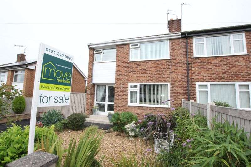 3 Bedrooms Semi Detached House for sale in Highfield Close, Neston, Cheshire