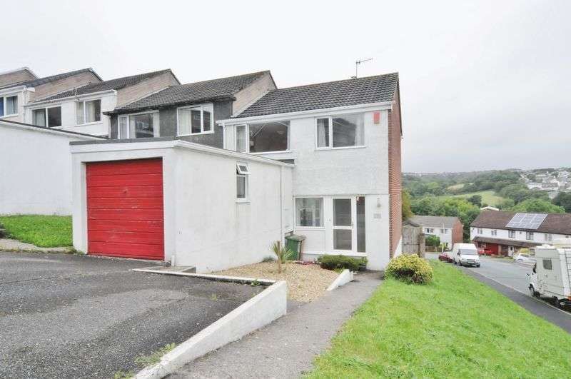 3 Bedrooms House for sale in Austin Crescent, Plymouth. End of terrace 3 bedroom family home.