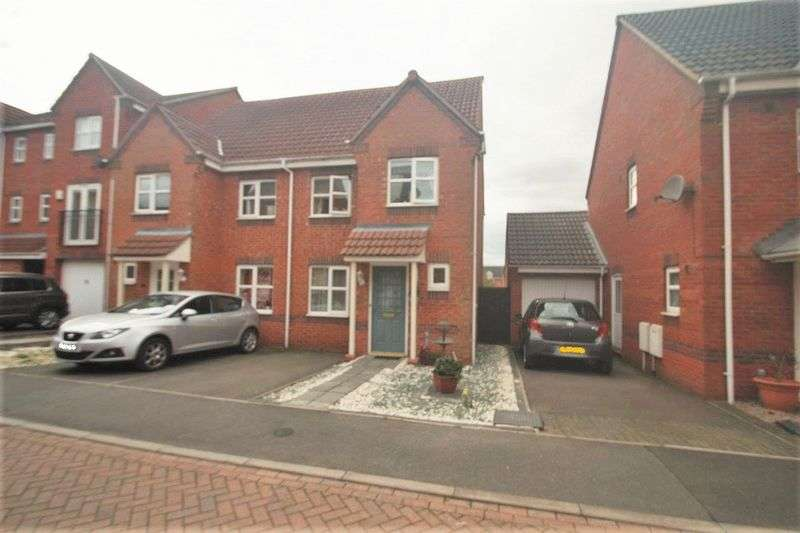 3 Bedrooms Semi Detached House for sale in Brouder Close, Coalville