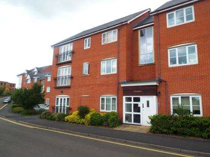 1 Bedroom Flat for sale in River House, Common Road, Evesham, Worcestershire