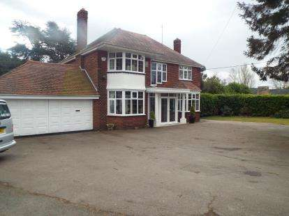 4 Bedrooms Detached House for sale in Church Lane, Bickenhill, Solihull, West Midlands
