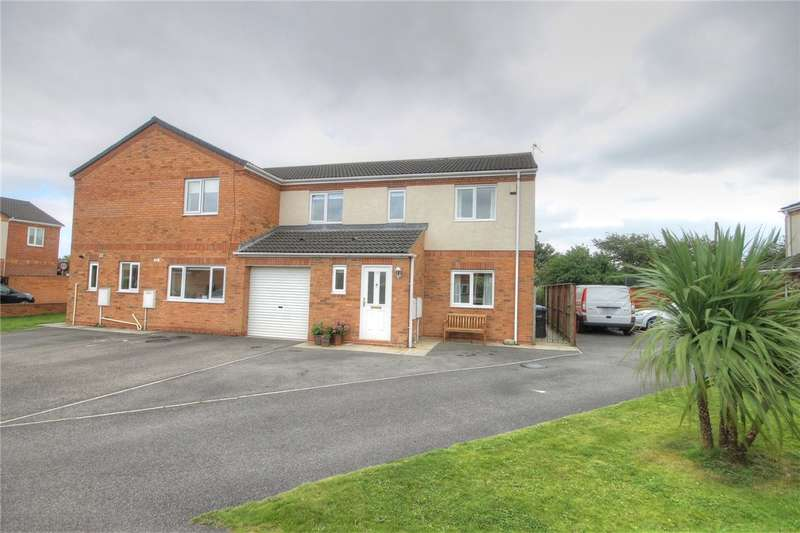 3 Bedrooms Semi Detached House for sale in Royal George Close, Shildon, Co Durham, DL4
