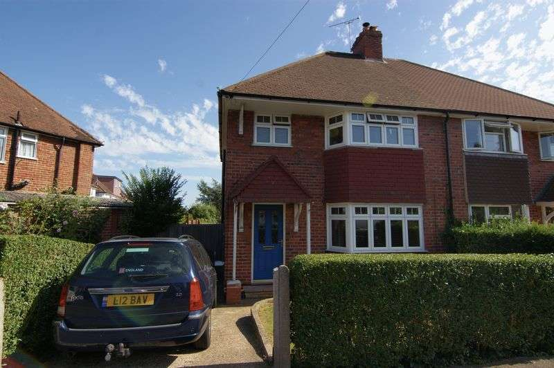 3 Bedrooms Semi Detached House for sale in Hillview Crescent, Guildford