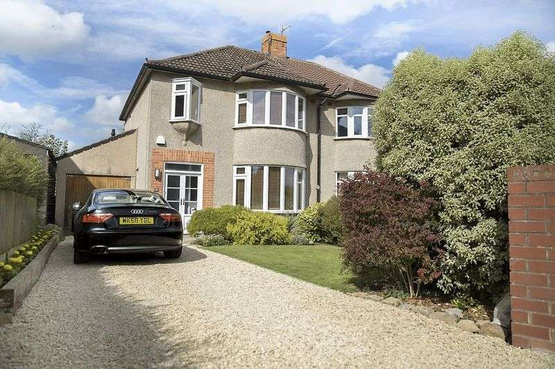 3 Bedrooms Semi Detached House for sale in Rodney Road, Saltford