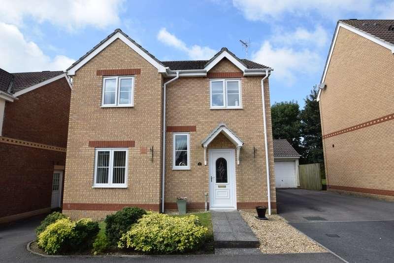 4 Bedrooms Detached House for sale in 10 Fairplace Close (Clos Man Teg), Broadlands, Bridgend, Bridgend County Borough, CF31 5BY.