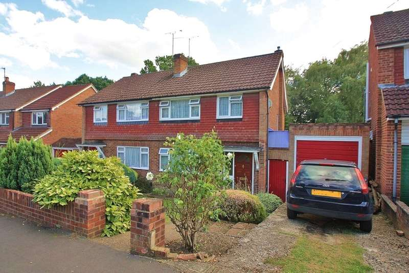 3 Bedrooms Semi Detached House for sale in Hermitage Woods Crescent, St Johns, Surrey, GU21