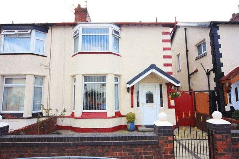 3 Bedrooms Semi Detached House for sale in Warnerville Road, Old Swan, Liverpool, L13