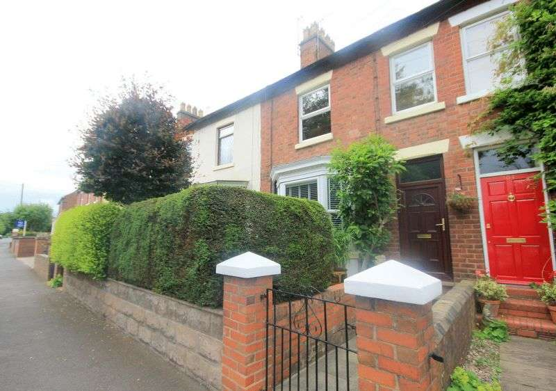 3 Bedrooms Terraced House for sale in Newcastle Road, Stone