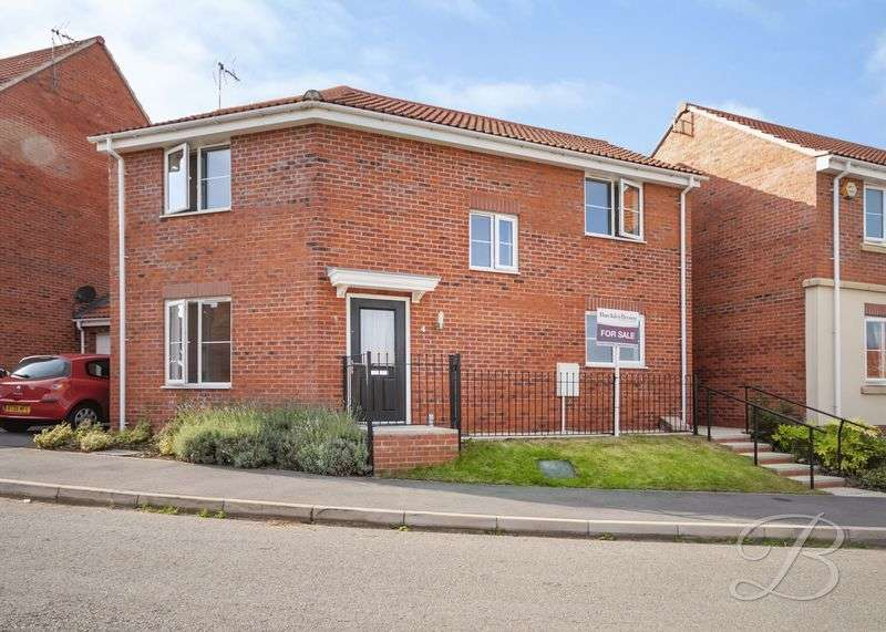 3 Bedrooms Detached House for sale in Kerry Close, Clipstone Village