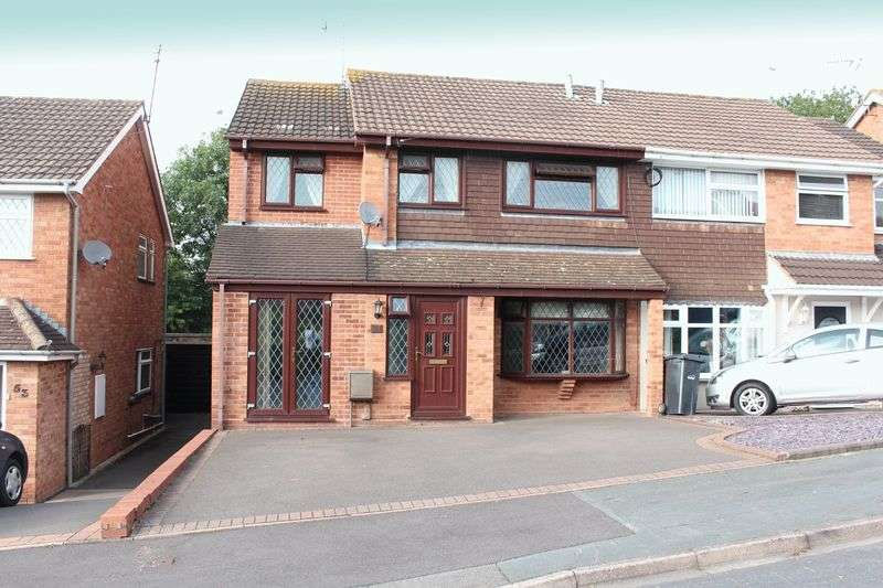 3 Bedrooms Semi Detached House for sale in KINGSWINFORD, Booth Close
