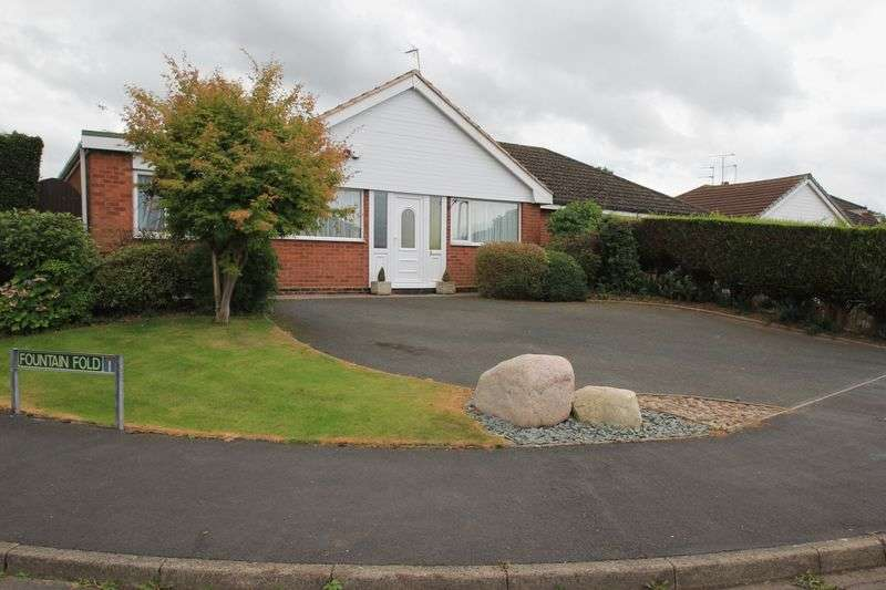 3 Bedrooms Semi Detached Bungalow for sale in Ginger Hill, Gnosall, Stafford. * NO UPWARD CHAIN*