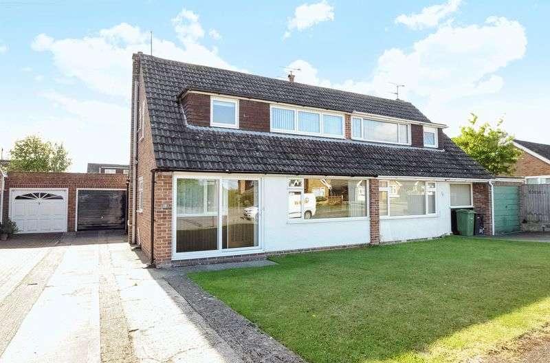 3 Bedrooms Semi Detached House for sale in Stonebridge Road, Steventon
