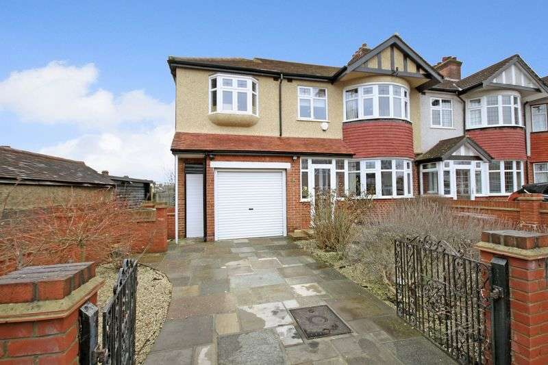 5 Bedrooms Semi Detached House for sale in CHEAM
