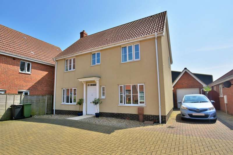 4 Bedrooms Detached House for sale in Bullfinch Drive, Harleston