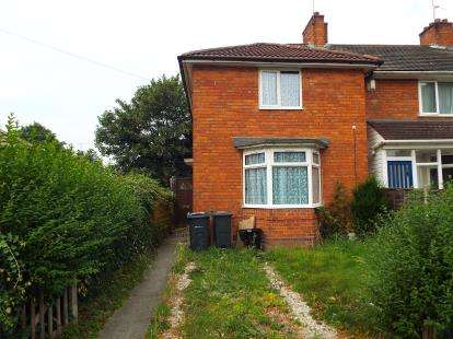 3 Bedrooms End Of Terrace House for sale in Pineapple Road, Birmingham, West Midlands