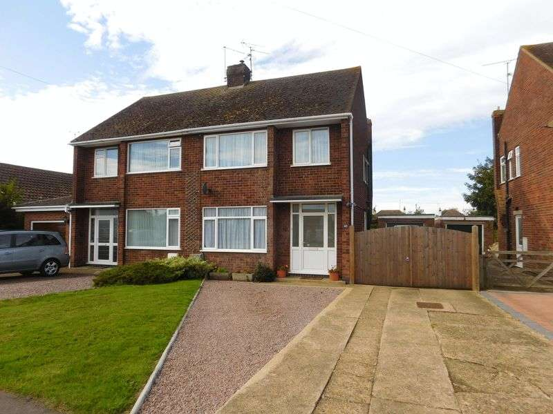 3 Bedrooms Semi Detached House for sale in Granville Avenue, Northborough