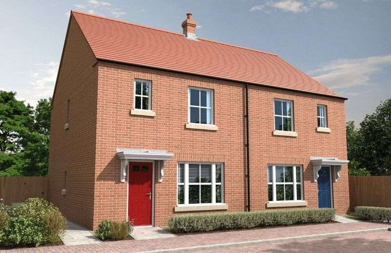 3 Bedrooms Semi Detached House for sale in Meadow Way, Spalding