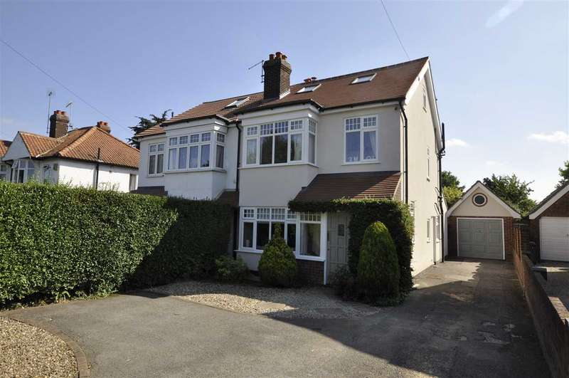 4 Bedrooms Semi Detached House for sale in Chelmerton Avenue, Chelmsford