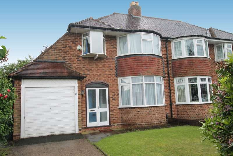 3 Bedrooms Semi Detached House for sale in Denholm Road, Sutton Coldfield, B73 6PN