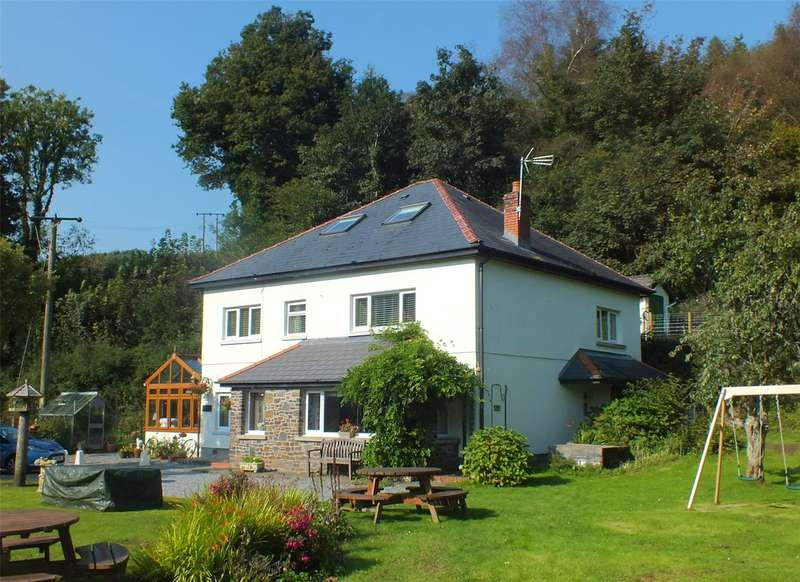 6 Bedrooms Detached House for sale in Woodland, Lower Level, Stepaside, Narberth, Pembrokeshire