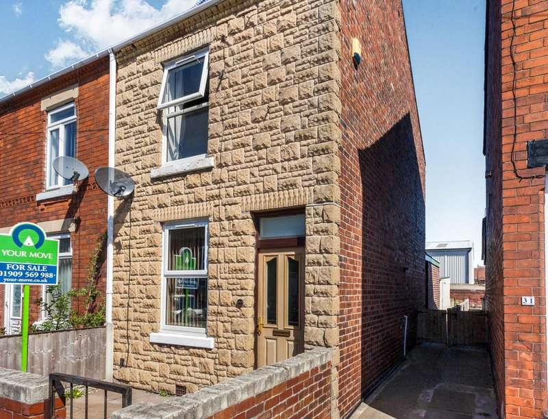 2 Bedrooms Semi Detached House for sale in Victoria Street, SHEFFIELD, S25