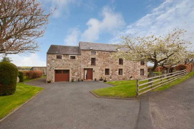 4 Bedrooms Detached House for sale in Crailing, Roxburghshire, Jedburgh, Borders, TD8 6TW