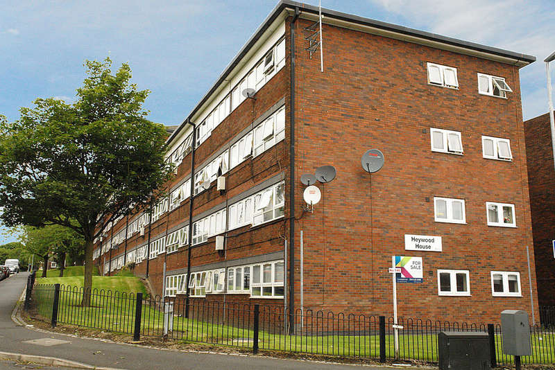 2 Bedrooms Ground Flat for sale in 146 Heywood House, Oldham