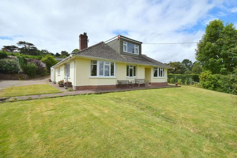 4 Bedrooms Detached Bungalow for sale in Dunchideock