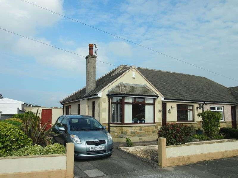 2 Bedrooms Semi Detached Bungalow for sale in Anstable Road, Bare, Morecambe