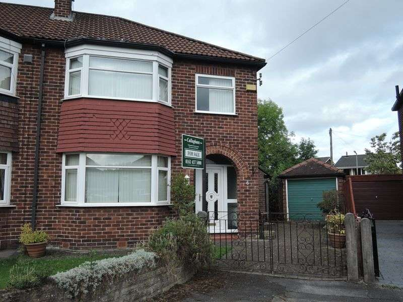 3 Bedrooms Semi Detached House for sale in Hurstvale Avenue, Cheadle