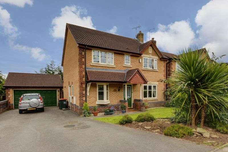 4 Bedrooms Detached House for sale in Rosecroft Drive, Newport