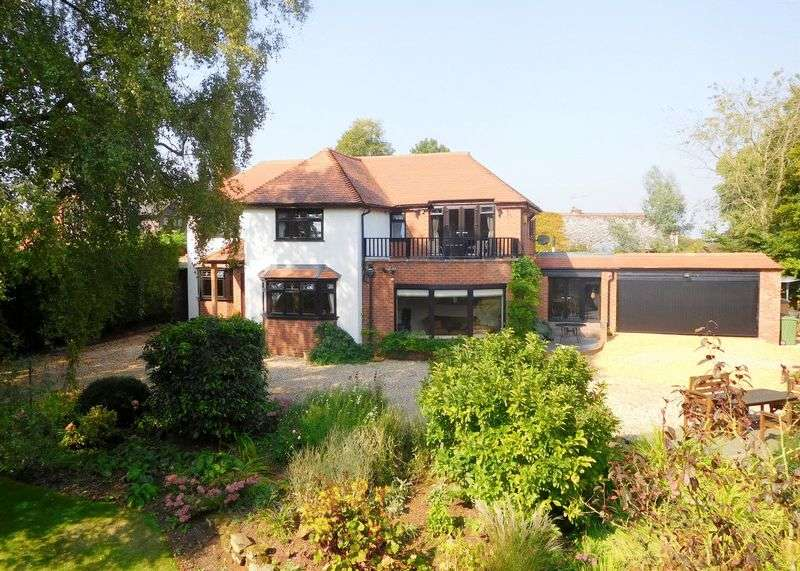 4 Bedrooms Detached House for sale in Pershall, Eccleshall, Stafford
