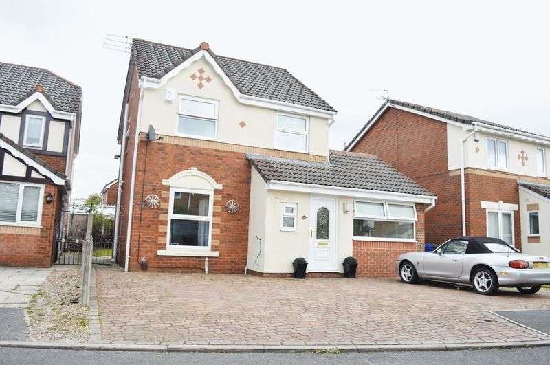 4 Bedrooms Detached House for sale in Lodge Fold, Droylsden, Manchester