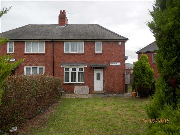 3 Bedrooms Semi Detached House for sale in Renwick Street, Newcastle