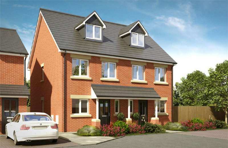4 Bedrooms Semi Detached House for sale in Greenwood Mews, Horwich, Bolton, Lancashire